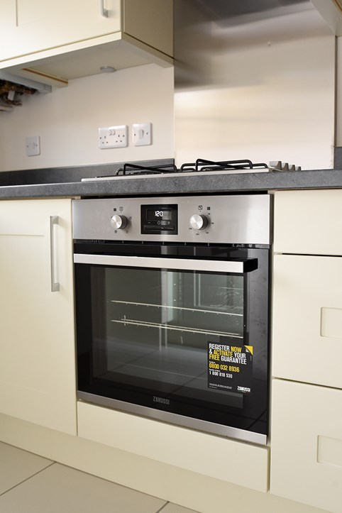 Oven in one of our new homes